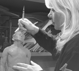 Sculpting in Studio